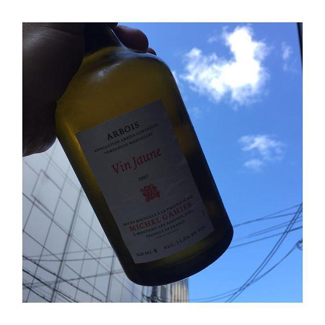 Chihiro TaguchiさんはInstagramを利用しています:「黄色ワイン(#ヴァンジョーヌ )オレンジワインラバーが増えてきたので、ここ1ヶ月位、黄色ワインもグラスで開けてます!!この機会にぜひとも今日は #ミッシェルガイエ #ekaki #大衆ワイン酒場 #vinjaune #jura #ジュラ #サヴァニャン」 (12603)