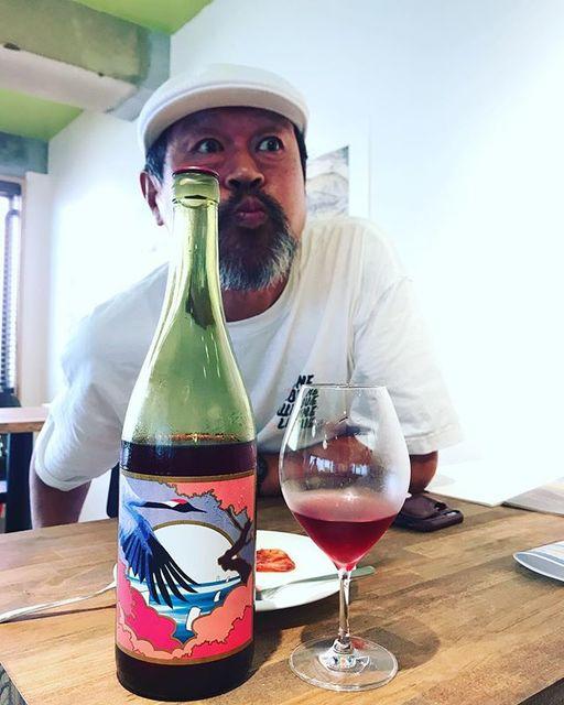 "winy on Instagram: ""Rosso 2017 / Grape Republic (Kazuomi Fujimaki) - Yamagata, Japan (Steuben, Rosario Bianco, Sangiovese, Cabernet Sauvignon, Merlot) ロッソ 2017…"" (12683)"