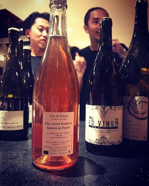 "winy.tokyo on Instagram: ""The Artist Formerly Known As Peach 2016 / Anders Frederik Steen - #Rhone, #France (#CabernetSauvignon 50%, #Syrah 50%)…"" (13425)"