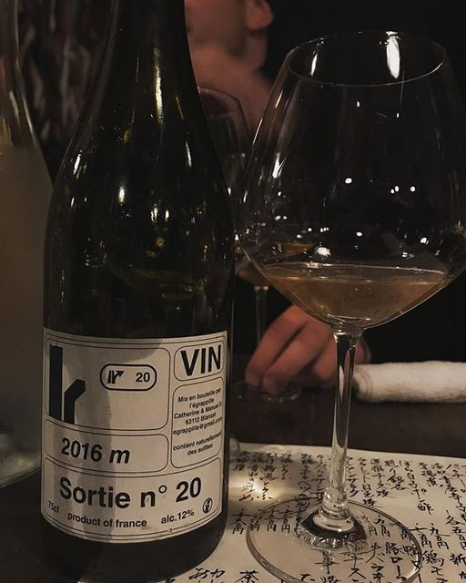 """winy.tokyo on Instagram: """"Sortie No.20 2016 / L'Egrappille (Manuel Dumora) - #Auvergne, #France (#Colombard 40%, #Mauzac 40%, Gamay 15%, Chardonnay 5%) ソルティ・ヌメロ・ヴァン…"""" (13540)"""
