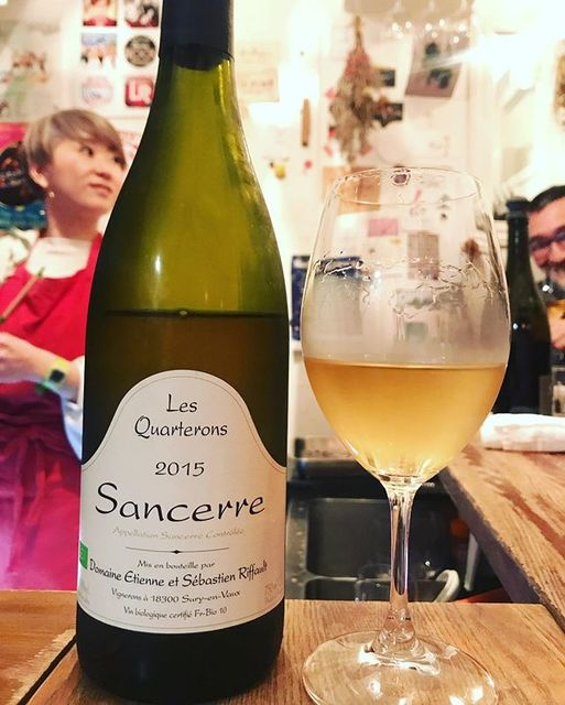 "winy.tokyo on Instagram: ""Sancerre Les Quarterons 2015 / Sebastien Riffault - #Loire, #France (#SauvignonBlanc) サンセール・レ・カルトロン 2015 / セバスチャン・リフォー -…"" (13665)"