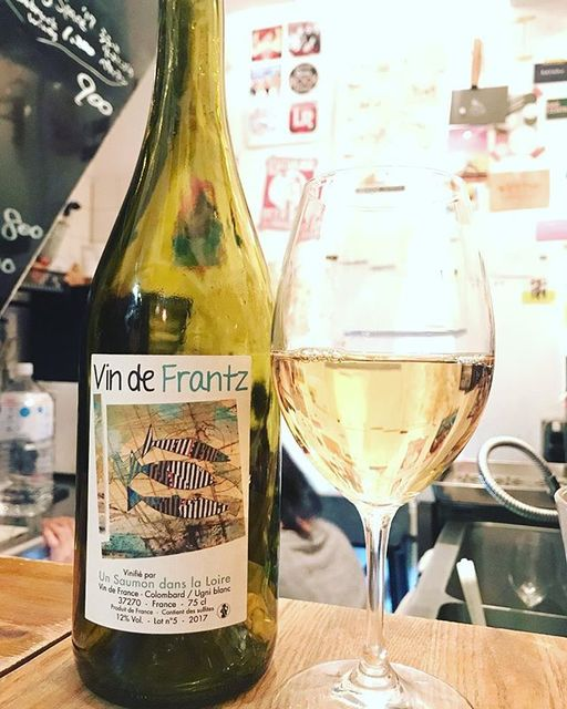 "winy.tokyo on Instagram: ""Vin de Frantz 2017 / Un Saumon dans la Loire (Frantz Saumon) - #Loire, #France (#SauvignonBlanc) ヴァン・ド・フランツ 2017 / アン・ソーモン・ダン・ラ・ロワール…"" (13945)"