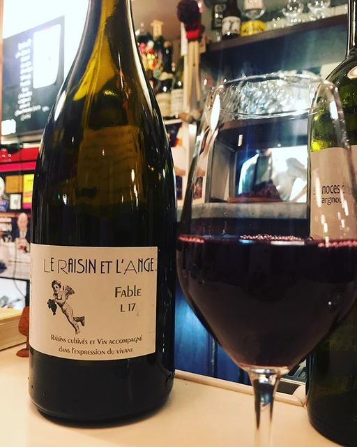 "winy.tokyo on Instagram: ""Le Raisin et l'Ange Rouge Fable 2017 / Le Raisin et l'Ange (Antonin Azzoni) - #Rhone, #France (#Grenache, #Syrah) ル・レザン・エ・ランジュ ファーブル 2017 /…"" (14896)"