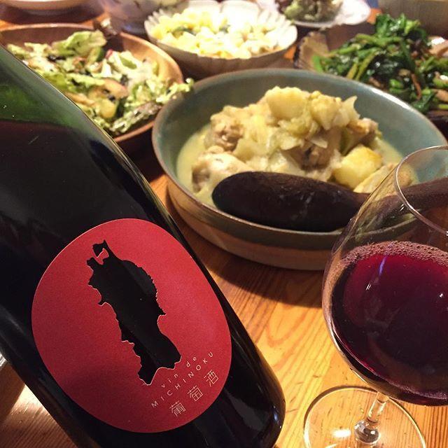 """Takuro Koga on Instagram: """"昨夜の晩御飯より。 確定申告の詰めがまだ終わらず。 閉店後に残業したかったけど、 この日ばかりは帰って家族と食事を。 ヴァンドミチノク2018、 自分用がなんとか残ったので飲む事ができました。 あの日の事はもちろん忘れませんが、 このワインを口にする時に浮かんで来るのは、…"""" (15017)"""