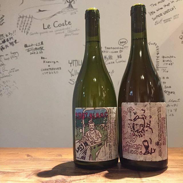 """Takuro Koga on Instagram: """"【新入荷ワインのご紹介】 【本日4/18は15:00-16:30不在です】 ポカポカ陽気の熊本。 春にぴったりのワインが届いております。 ルーシーマルゴーの、ピノブラン'18と、 ワイルドマンブラン'18(ソーヴィニョンブラン)。 ピノブランは柑橘のニュアンスがあるグビグビ系。…"""" (15658)"""
