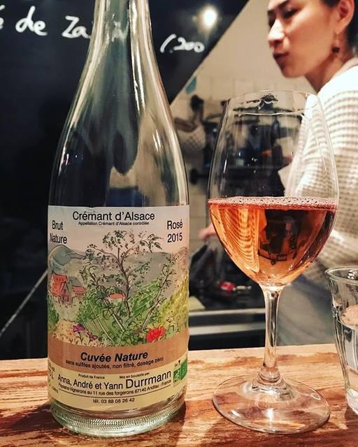 "winy.tokyo on Instagram: ""Cremant d'Alsace Rose 2015 / Yann Durrmann - #Alsace, #France (#PinotNoir) クレマン・アルザス・ロゼ 2015 / ヤン・ドュルマン - #フランス、#アルザス(#ピノノワール) #winytokyo…"" (15690)"