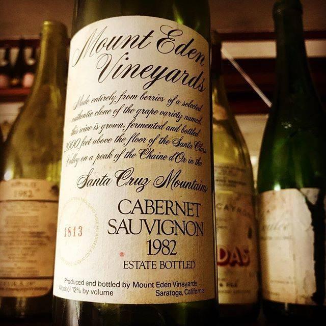 """nadja1963 on Instagram: """"カリフォルニア、セントラルコースト。パリ対決リベンジでもご承知のとおりリッジに代表される長熟ワインを産出するサンタクルーズ マウンテンAVA。マウントエデン ヴィンヤーズのエステイト…"""" (15795)"""