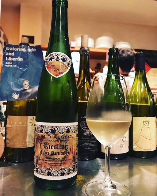 """winy.tokyo on Instagram: """"Riesling Cuvée Particulière 2017 / Gerard Schueller (Bruno Schueller) - #Alsace, #France (#Riesling) リースリング・キュヴェ・パルティキュリエール 2017 /…"""" (15882)"""