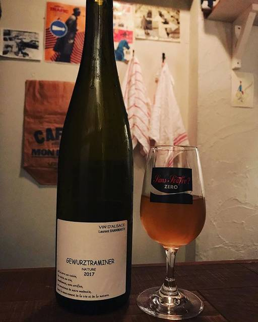 "winy.tokyo on Instagram: ""Gewurztraminer 2017 / Laurent Bannwarth (Stephane Bannwarth) - #Alsace, #France (#Gewurztraminer)  ゲヴェルツトラミネール 2017 /…"" (16505)"