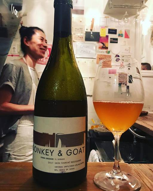 """winy.tokyo on Instagram: """"Roussanne 2017 / Donkey & Goat Winery (Jared Brandt & Tracy Brandt) - #California, #USA (#Roussanne) ルーサンヌ 2017 /…"""" (16843)"""