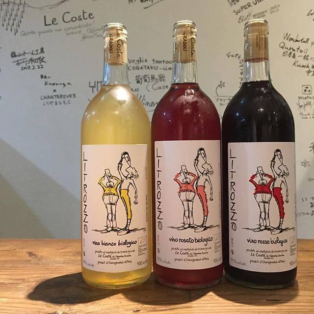 """Takuro Koga on Instagram: """"【新入荷ワインのご紹介②】 こちらも首を長くして待っていました! もはやお馴染みのイタリアはラツィオの生産者、 レコステから、1リットル入りのがぶ飲みワイン到着! こう毎日暑くっちゃ、このラベルみたいに、 ゴッキュゴキュいきたくもなりますね(笑)…"""" (17486)"""