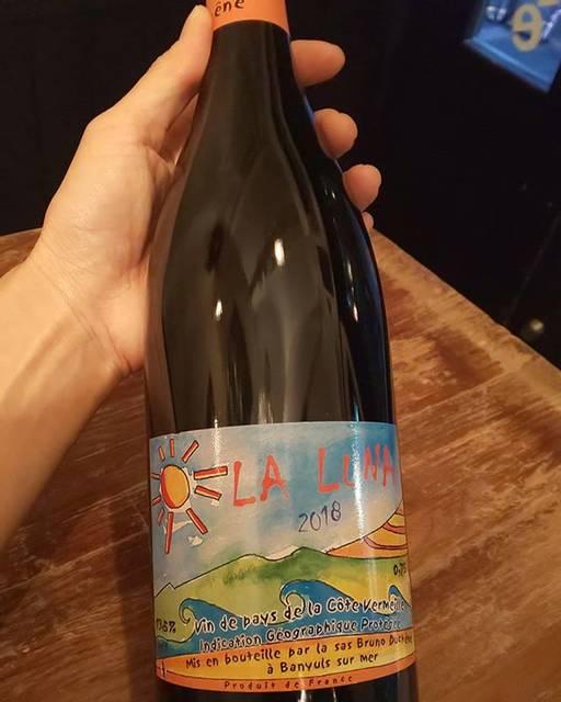 """WINE STAND Bouteille on Instagram: """"9/7 土曜日  こんばんは! @bouteille_wine_stand OPENしました!  本日も沢山グラスワインご用意して お待ちしております。  24時までです!  よろしくお願いします😊  La Luna / Bruno Duchene France,…"""" (17904)"""