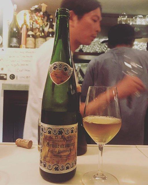 "winy.tokyo on Instagram: ""Gewurztraminer Cuvée Particulière 2013 / Gerard Schueller (Bruno Schueller) - #Alsace, #France (#Gewurtztraminer)…"" (18429)"