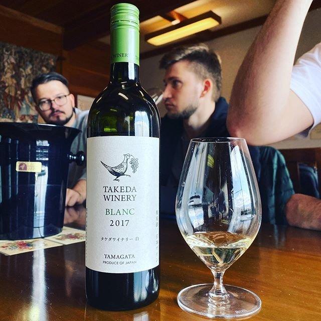 "winy.tokyo on Instagram: ""Blanc 2017 / Takeda Winery (Noriko Kishidaira) - #Yamagata, #Japan (#Delaware) ブラン 2017 / タケダ・ワイナリー(岸平典子)- #日本、#山形(#デラウェア) #winytokyo…"" (19477)"
