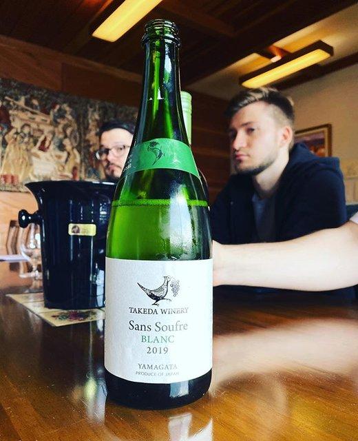 "winy.tokyo on Instagram: ""Sans Soufre Blanc 2019 - Takeda Winery (Noriko Kishidaira) - #Yamagata, #Japan (#Delaware) サン・スフル・ブラン 2019 / タケダ・ワイナリー(岸平典子)-…"" (19481)"