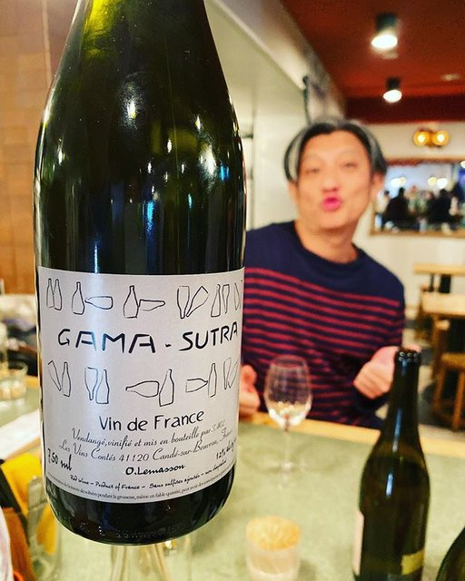 "winy.tokyo on Instagram: ""Gama-Sutra 2014 / Les Vins Contes (Olivier Lemasson) - #Loire, #France (#Gamay) ガマ-ストラ 2014 / レ・ヴァン・コンテ(オリヴィエ・ルマソン)- #フランス、#ロワール(#ガメイ)…"" (19620)"