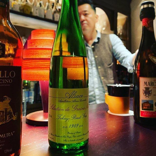 "winy.tokyo on Instagram: ""Tokay Pinot Gris Selection de Grains Nobles 1989 / Gerard Schueller et Fils (Bruno Schueller) - #Alsace, #France (#TokayPinotGris)…"" (20267)"