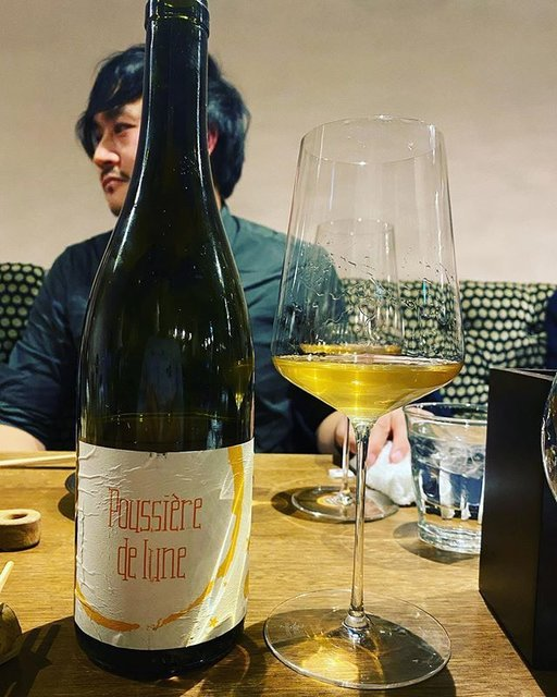 """winy.tokyo on Instagram: """"Poussiiere de Lune 2013 / Maison Brulees (Corinne et Paul Gillet) - #Loire, #France (#SauvignonBlanc) プシエール・ド・リュンヌ 2013 / メゾン・ブリュレ(コリーヌ &…"""" (20626)"""