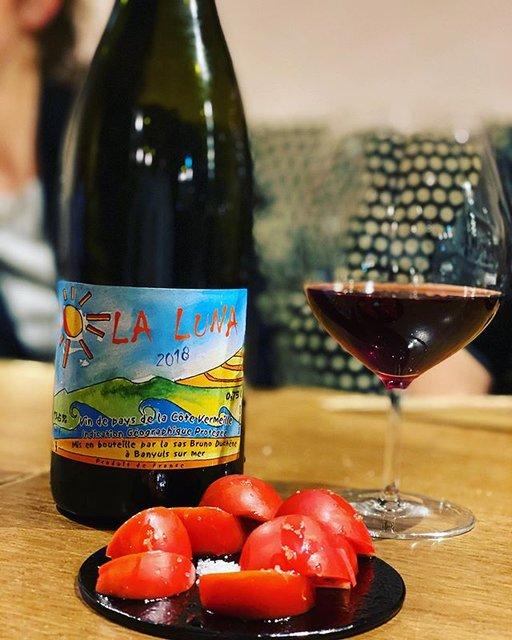 """winy.tokyo on Instagram: """"La Luna 2018 / Domaine Bruno Duchene - #Languedoc, #France (#GrenacheNoir, #GrenacheGris, #Carignan #GrenacheBlanc) ラ・ルナ 2018 /…"""" (20628)"""