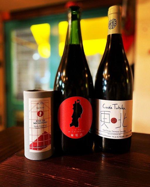 """wine stand タンバリン on Instagram: """"明日3月11日19:00抜栓致します。 17年と18年のバックビンテージも一緒に開けたいと思います。 本日は @ishimo_tta #いしもたんばりん でございます。 #同じ空の下同じワインで心寄せる一日に  #ヴァンドミチノク  #vindemichinoku…"""" (21609)"""