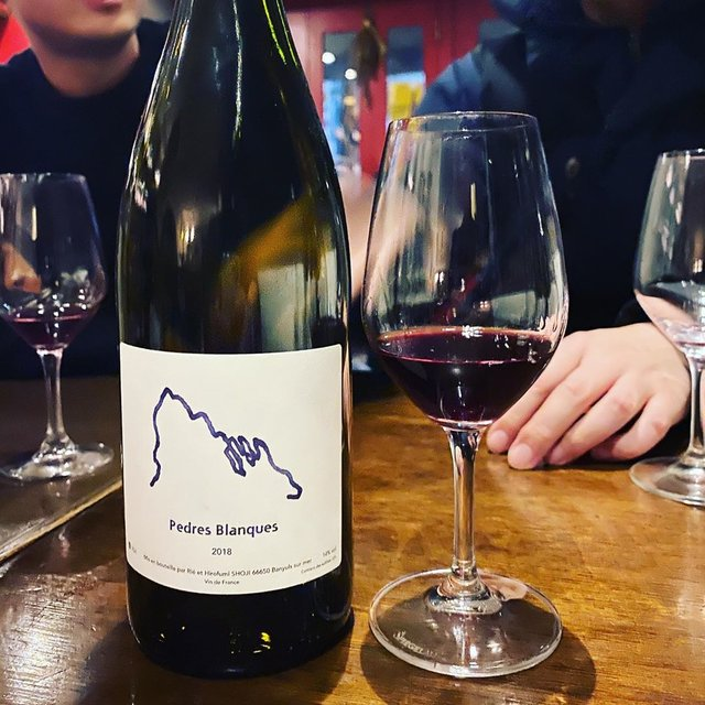 """winy.tokyo on Instagram: """"Pedres Blanques Rouge 2018 / Pedres Blanques (Rie & Hirofumi Shoji) - #Roussillon, #France (#GrenacheNoir) ペドレス・ブランケス・ルージュ 2018 /…"""" (22425)"""