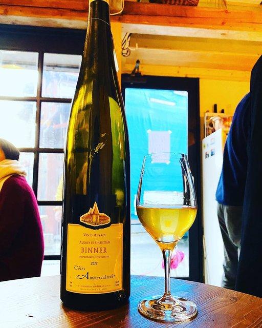 "winy.tokyo's Instagram post: ""Cotes d'Amourschwhir 2012 / Christian Binner - #Alsace, #France (#Riesling 40%, #PinotGris 40%, #Gewurtztraminer 10%, #Muscat 5%,…"" (22453)"