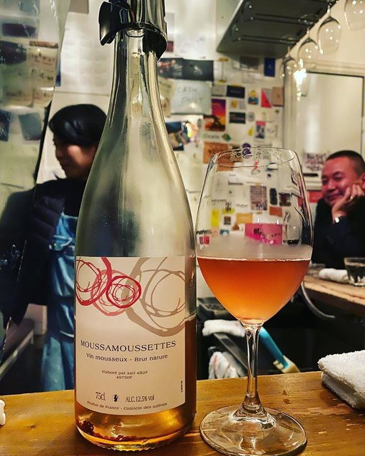 """winy.tokyo on Instagram: """"Moussamoussettes 2018 / Domaine Mosse (Agnes&Rene MOSSE) - #Loire, #France (#CabernetFranc, #GrolleauGris, #Gamay) ムサムセット 2018 /…"""" (22521)"""