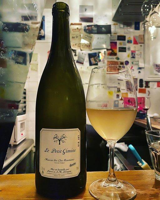 """winy.tokyo on Instagram: """"Muscat Sec Des Roumains 2018 / Le Petit Domaine de Gimios (Anne-Marie et Pierre Lavaysse) - #Languedoc, #France (#MuscatPetitGrain)…"""" (22523)"""