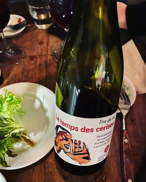 "winy.tokyo on Instagram: ""Fou du Roi 2017 / Le Temps des Cerises (Axel Prufer) - #Languedoc, #France (#Grenache, #Carignan, #Cinsaut) フー・デュ・ロワ 2017 /…"" (22546)"