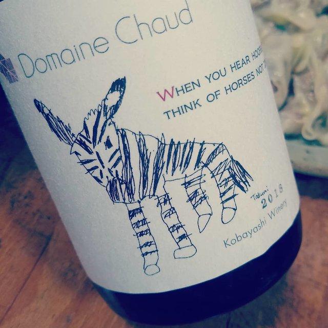 """鶏料理専門 鳥天狗 on Instagram: """"昨夜飲んだシマウマ2018すごい美味しかった!プライベート用に買ったドメーヌショオのワインを色々と寝かせてるんだけど、どれも調子良いっす👍2017と2018のシマウマがあと一本づつあるので、コロナ落ち着いたら飲み比べしましょう🍷#ドメーヌショオ #シマウマ"""" (22646)"""