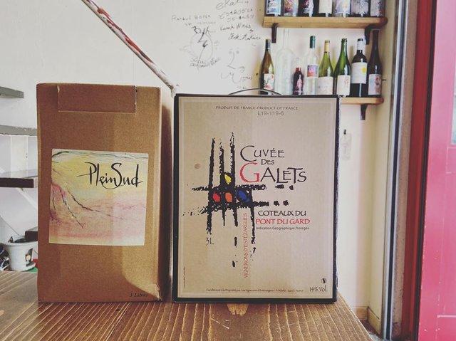 """Chihiro Taguchi on Instagram: """"本日は、グラスでお出ししている同じ生産者の箱ワインを2種ご紹介です。 まず、生産者の「エステザルグ協同組合」のご紹介から。 フランス、ローヌ河南部にある10名でつくるフランス最小規模の協同組合です。…"""" (22750)"""