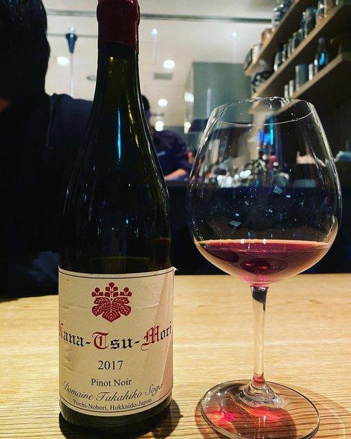 "winy.tokyo on Instagram: ""Nana-Tsu-Mori Pinot Noir 2017 / Domaine Takahiko Soga - #Hokkaido, #Japan (#PinotNoir) ナナ・ツ・モリ ピノ・ノワール 2017 / ドメーヌ・タカヒコ(曽我貴彦)-…"" (22818)"
