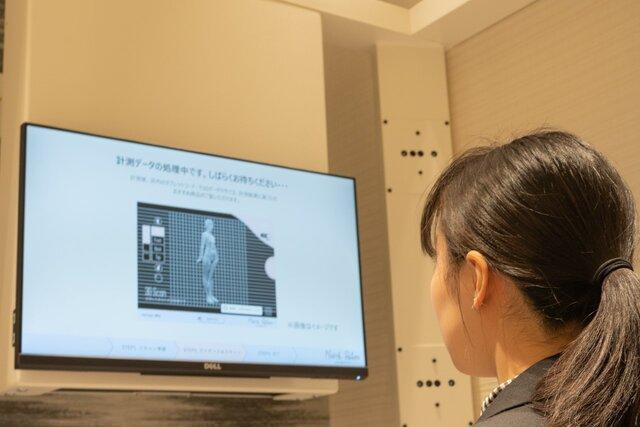三越伊勢丹、「3D計測」と「スタイリスト」による体型タイプと婦人服のデジタルマーケティングサービスをスタート