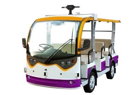 羽田イノベーションシティ、自律走行低速電動カートによるスマートシティ実証実験を開始