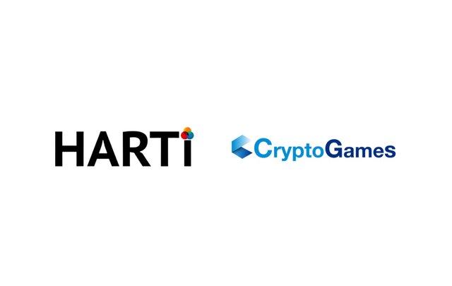 ブロックチェーン事業の「CryptoGames」と現代アーティストプロダクションの「HARTi」、現代アーティストのNFT発行を促進・支援するため業務提携を実施