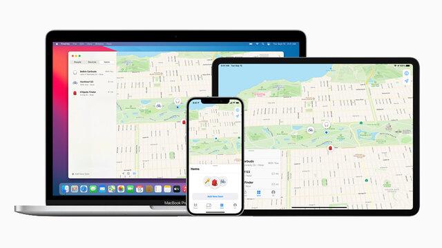Apple、他社製品からも利用できる探索機能を備える「探す」アプリケーションを公開