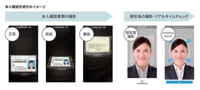 ソニー銀行、eKYC(オンライン本人確認)を活用した「スマホ口座開設」の取り扱いを開始