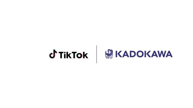 TikTokとKADOKAWA、人気TikTokクリエイターの書籍化を中心とする共同プロジェクトをスタート