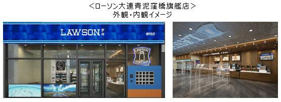 ローソンとパナソニック、SDGs・アフターコロナに対応した最新型店舗を中国・大連に開店