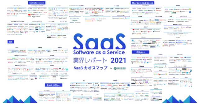 スマートキャンプ、SaaSカオスマップなどをまとめた「SaaS業界レポート2021 速報版」を公開