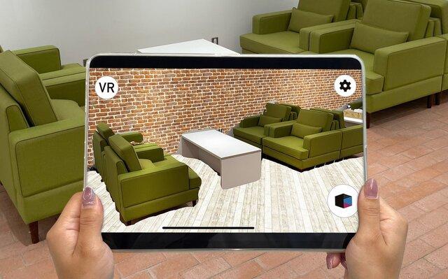 リクルート、LiDARスキャナを活用した部屋の模様替えシミュレーションができるARアプリを一般公開