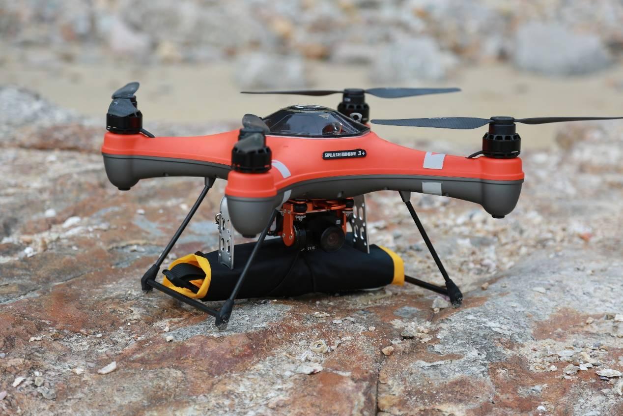 救命道具を搭載したsplash droneシリーズ