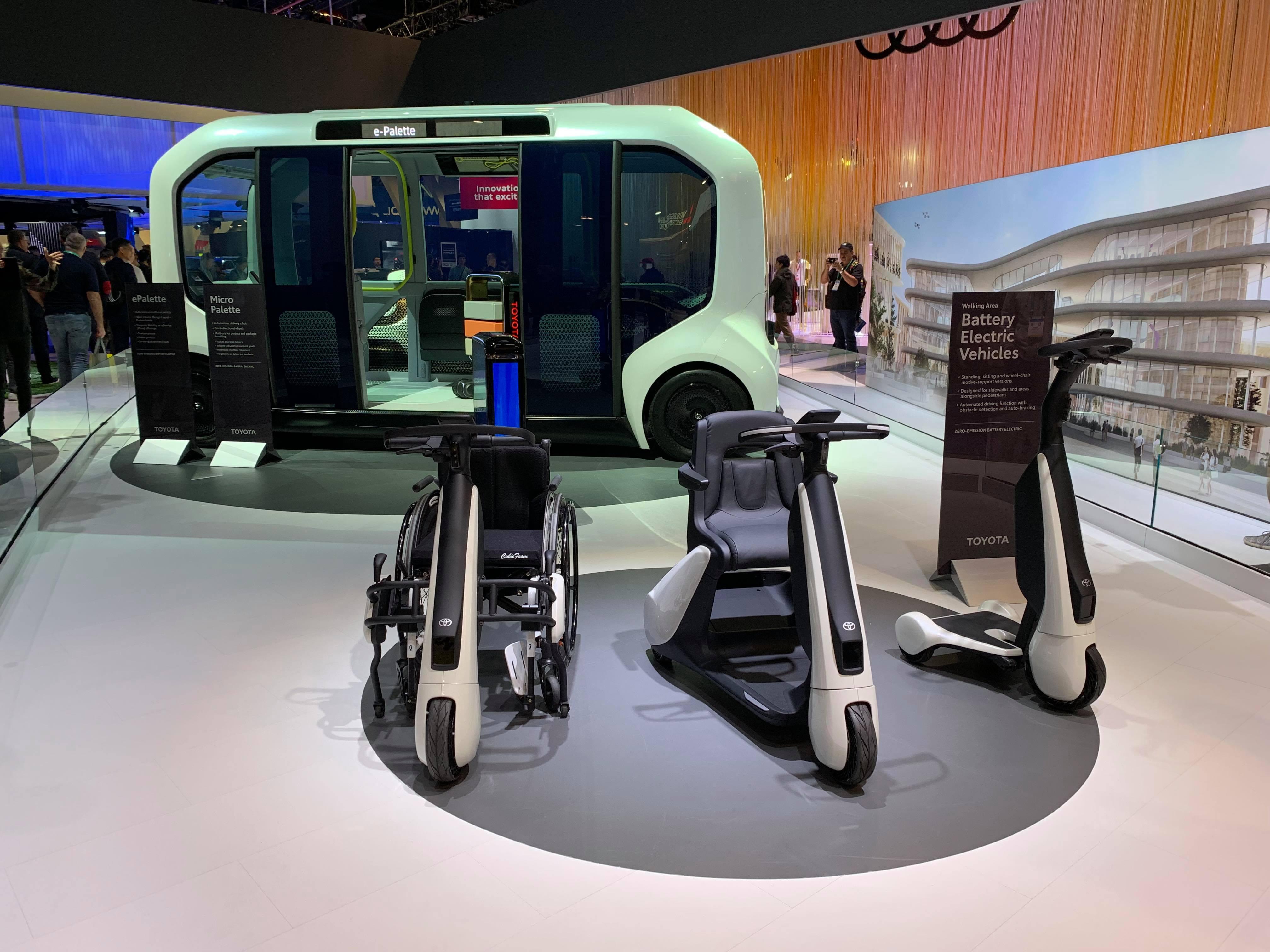 TOYOTAのAutono-MaaS専用EV車「e-Palette」