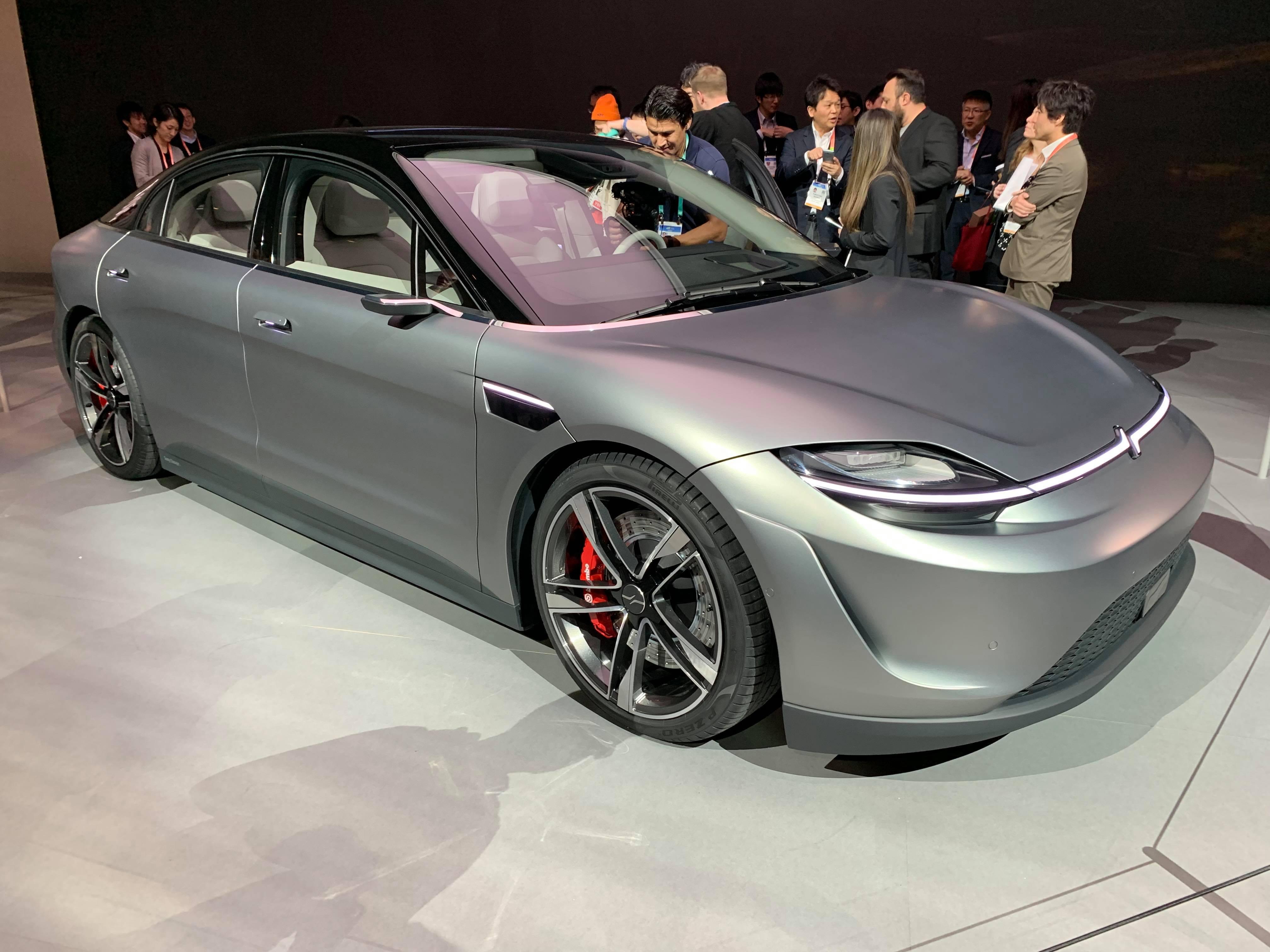 SONYが発表したEV車「VISION-S」