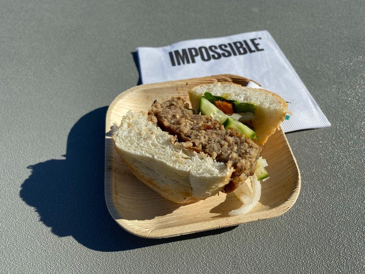 インポッシブル・フーズが披露した「人工豚肉」