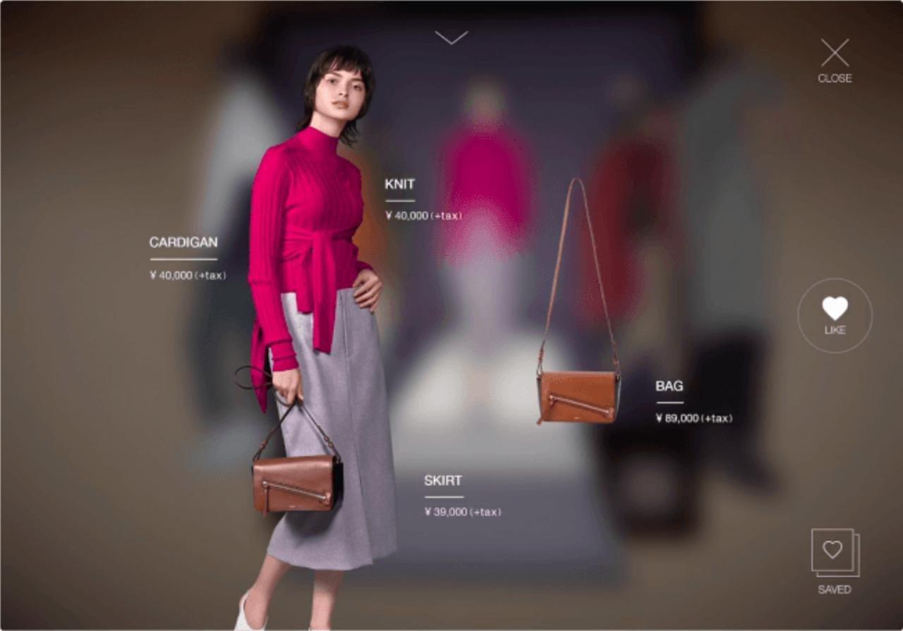 スチール撮影で取り込んだ商品の詳細画面