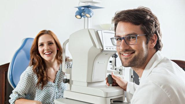 メガネ選びは視力測定にもこだわる!愛眼の視力測定