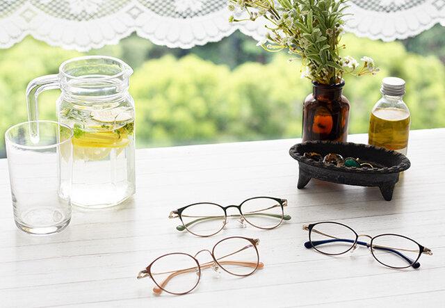 面長さんに似合うメガネの選び方。おしゃれに見せるメイクのコツも