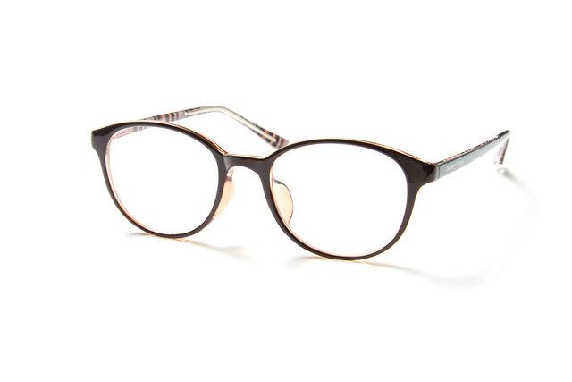 アウトドアブランド・コールマンのメガネがアイガンだけのオリジナルで登場!顔なじみの良いカラーの定番デザイン。アウトドアなテキスタイルを内面プリント。こちらはおしゃれな雰囲気でファッションとも合わせやすい人気のボストンタイプ。
