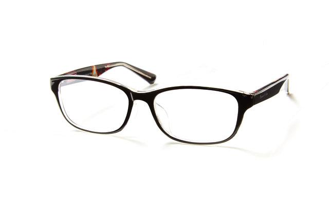 アウトドアブランド・コールマンのメガネがアイガンだけのオリジナルで登場!顔なじみの良いカラーの定番デザイン。アウトドアなテキスタイルを内面プリント。こちらは、お顔をシャープな印象に見せたい方におすすめのスクエアタイプ。